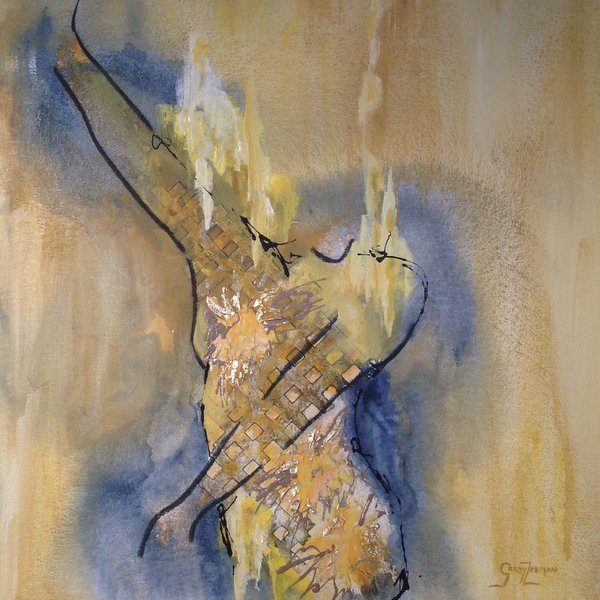 Abstract Female Figures - Radiating