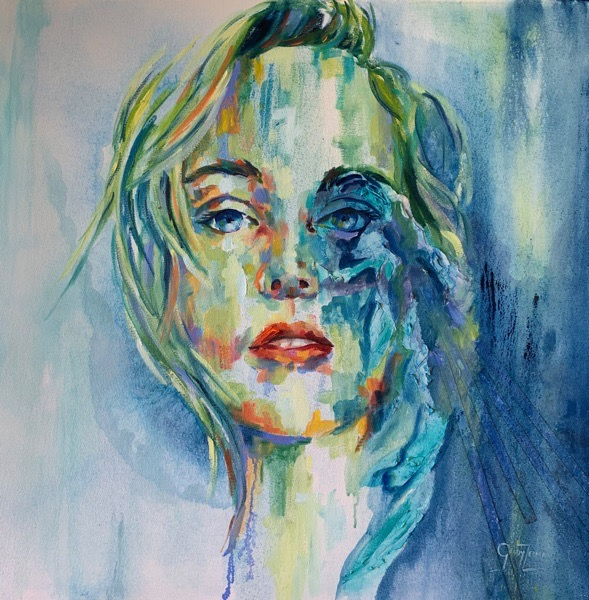 Contemporary Art Portraits - Soul Searching